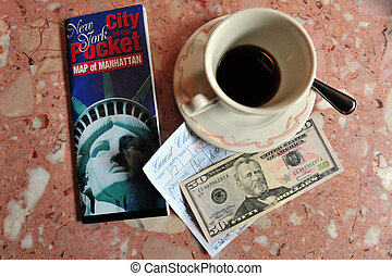 Coffee Stop in New York City