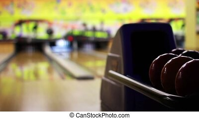 bowling playing