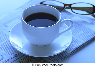 coffee time in   business