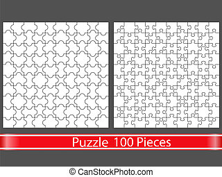 Puzzles with 100 pieces