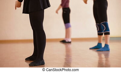 School Of Dancing - group of women with choreographer...