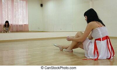 Dance Class - Woman in Dance Studio