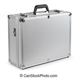 Aluminum safety briefcase - Aluminum safety metal briefcase...