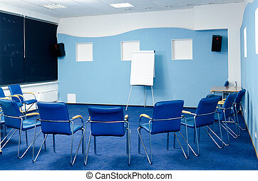 conference room - interior of conference room at hotel ready...