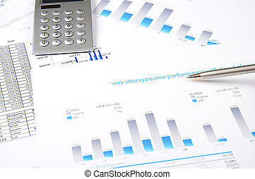 charts, documents, blueprint - Drawings and charts of...