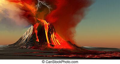 Hawai, volcán