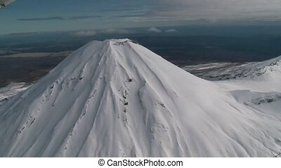 Tongariro National park 3 - aerial flight over tongariro...