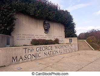 George, Washington, nacional, Masonic, memorial