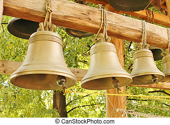 Church bells - Substantially all of the bells are made of...