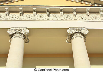 facade in classical style