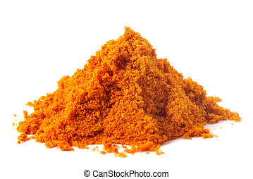 Pile of ground peppers