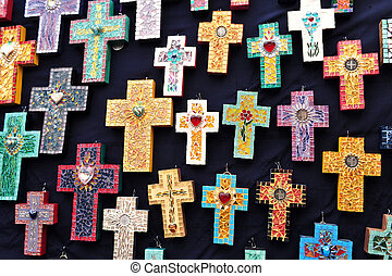 Crosses for sale, Mexico - Mexican handcrafted christian...