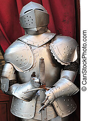 Suit of Armor - Suit of armor in Rome, Italy