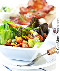 Mixed salad - Small mixed salad with low calorie
