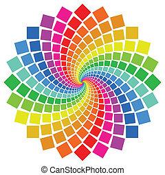 Circular Pattern - circular pattern on white background