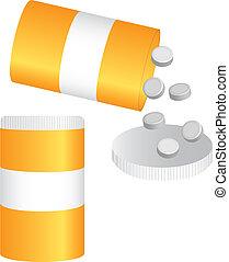 bottle pills