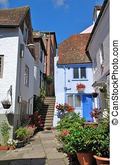 Sinnock Square, Hastings - The historic Elizabethan houses...