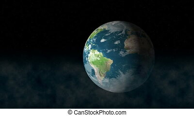 Earth - Rotate Earth