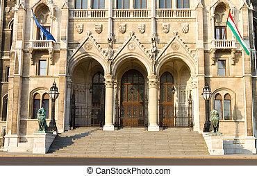 Húngaro, Parlamento, edificio