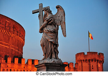 Sant Angelo in Rome, Italy