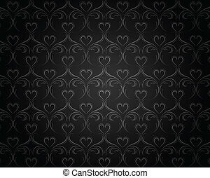 Vintage background with classy patterns for design