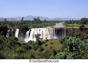 Waterfalls in Ethiopia