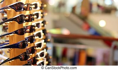eyeglasses in shopping center - eyeglasses in shopping...