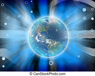 design of technology earth blue energy - technology earth...