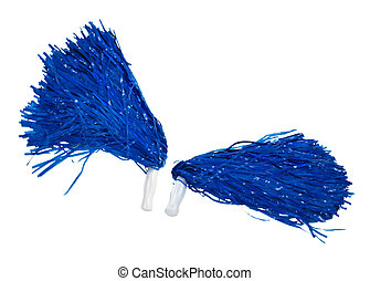 Pom Poms to Shake - Pom poms used for cheering for sports...