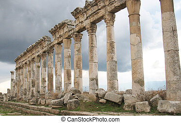 Apamea its a trace of antique power and shine - Apamea...