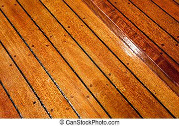 Wood Floor close up shot