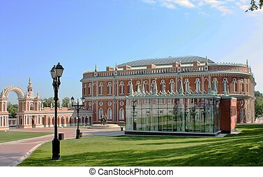 Bread House in Tsaritsyno - View of the Bread House, the...