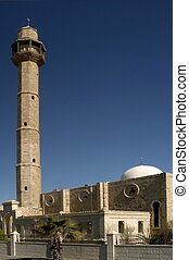 Mosques in Israel - Hassan Beck Mosque, Tel Aviv, Israel.