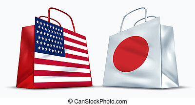 America and Japan trade
