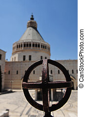 Church of the Annunciation, Israel - The roman catholic...