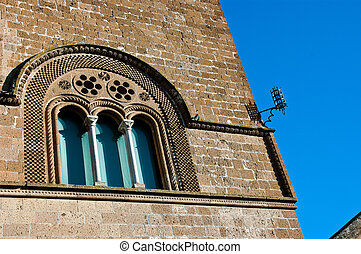 Windows of the Palace of the Captain of the People, Orvieto