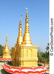 pagode, Ouro
