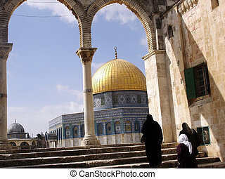 Jerusalem Temple Mount Dome of the Rock