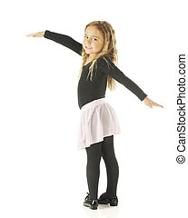 Little Tap Dancer - An adorable kindergarten dancer with her...