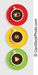 coffee traffic light