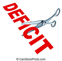 Cutting the deficit to balance the government financial...