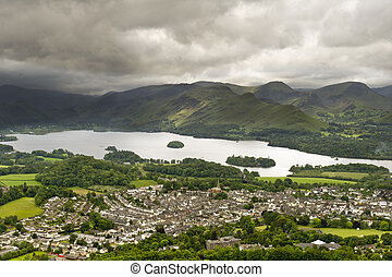 Keswick, Lake district, England