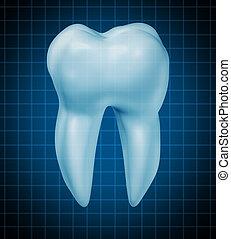 Healthy teeth symbol - Dentist tooth symbol for dental...