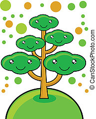 go green - illustration of go green