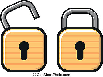 lock - illustration of lock