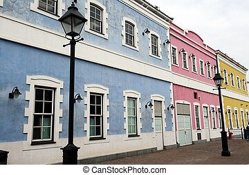 Portuguese Architecture - A Photograph of Portuguese...