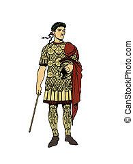 Military general roman.