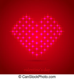 abstract heart for love. Vector illustration