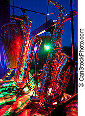 Jazz Music - Digital Photograph