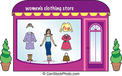 Women's clothing store - Small fashion store for women